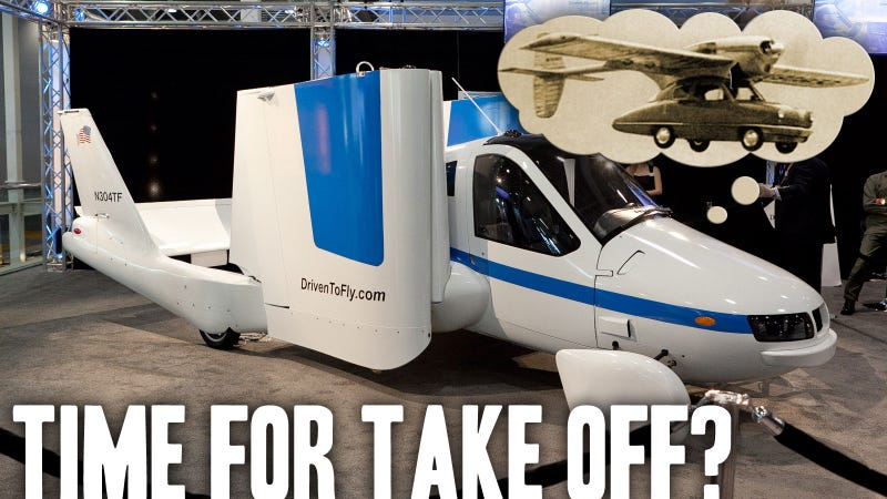 Illustration for article titled Why The Flying Car Everyone's Talking About Isn't A Flying Car