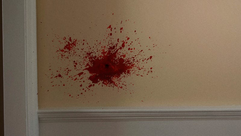 Illustration for article titled Audience Left Wondering What Happened After Action Film Pans From Character To Shot Of Blood Spattering Against Wall