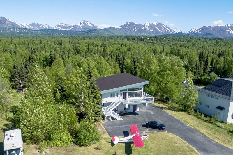 Our place in Anchorage because how could we not?