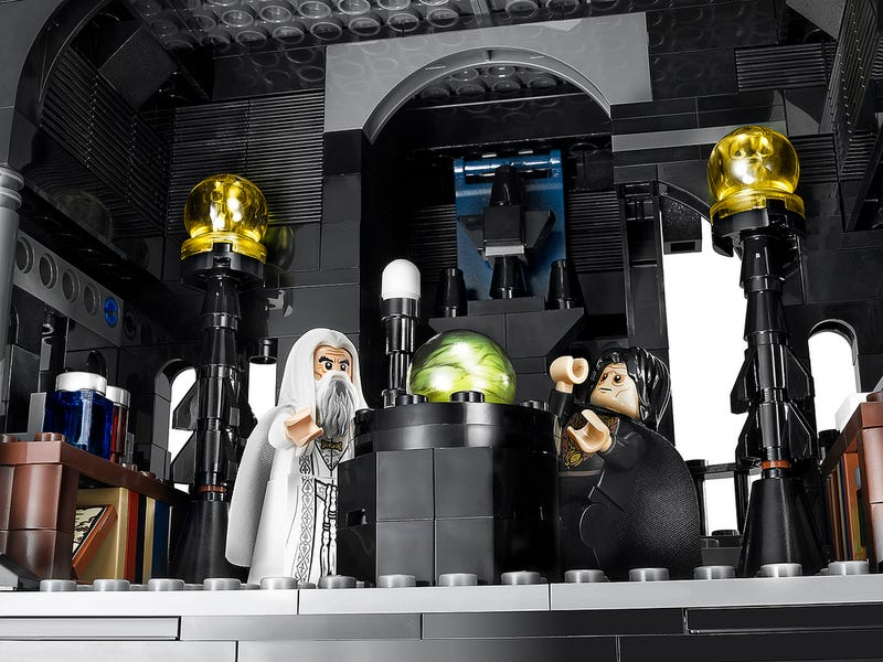 Illustration for article titled Holy cow, Lego are releasing a 29 inch tall Tower of Orthanc!