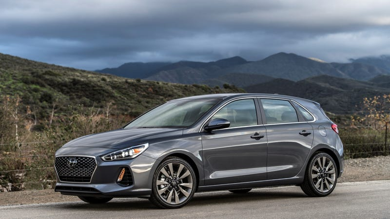 The 2018 Hyundai Elantra Gt Sport Is A Value Packed Turbo Hatchback