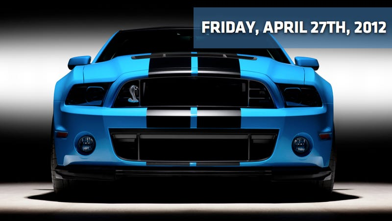Illustration for article titled 2013 Shelby GT500 Actually Hits 662 HP, GM Ups CEO Salary, And Ford Earnings Drop