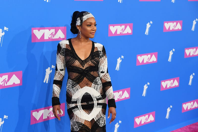 Tiffany Haddish attends the 2018 MTV Video Music Awards at Radio City Music Hall on Aug. 20, 2018, in New York City.