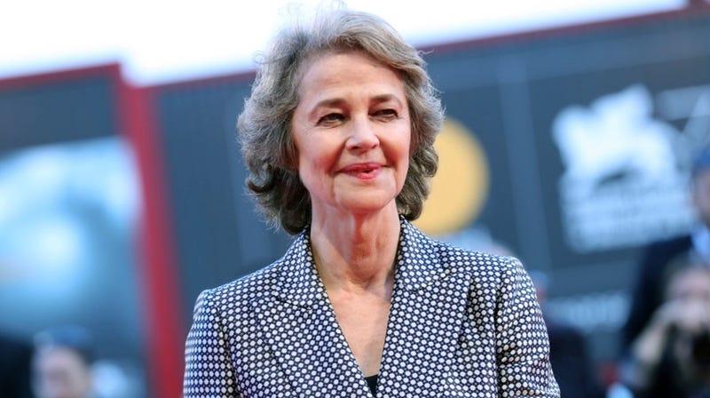 Charlotte Rampling at the 74th Venice Film Festival on September 9, 2017 .