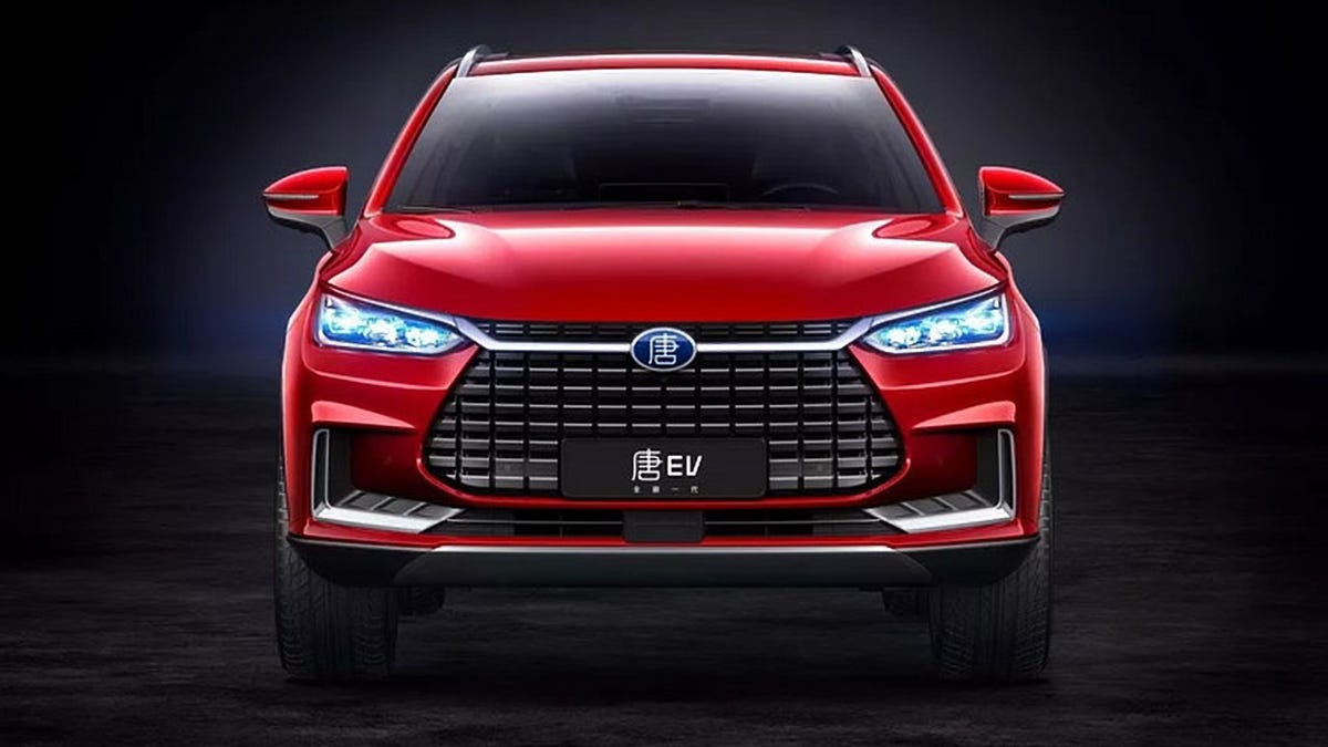 Chinese Startup BYD's Tang EV 600 Is Expected to Have a 373 Mile