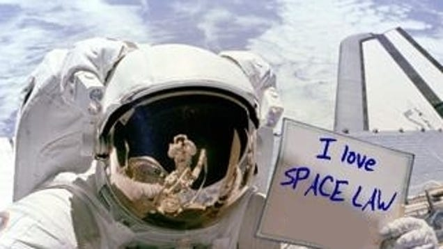 Outer space gets its first lawyer for Who owns outer space