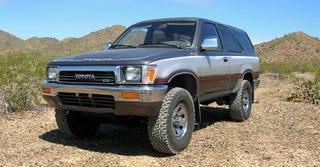 Illustration for article titled For $4,500, This 1990 Toyota 4Runner Ain't No Pavement Princess