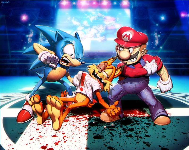 Illustration for article titled Well, Sonic & Mario Can Agree On One Thing