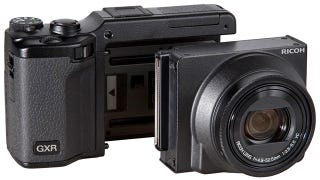 Illustration for article titled Ricoh's New Zoom Module Lets the GXR Compete With Big Boy DSLRs