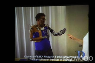 """Illustration for article titled All Things D: Dean Kamen on His Mind-Controlled Cyborg """"Luke"""" Arm"""