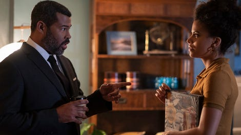 The new Twilight Zone ends a mixed first season with a meta episode