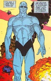 Illustration for article titled No Watchmen 2, But Plenty Of Dr. Manhattan's Blue Junk To Go Round