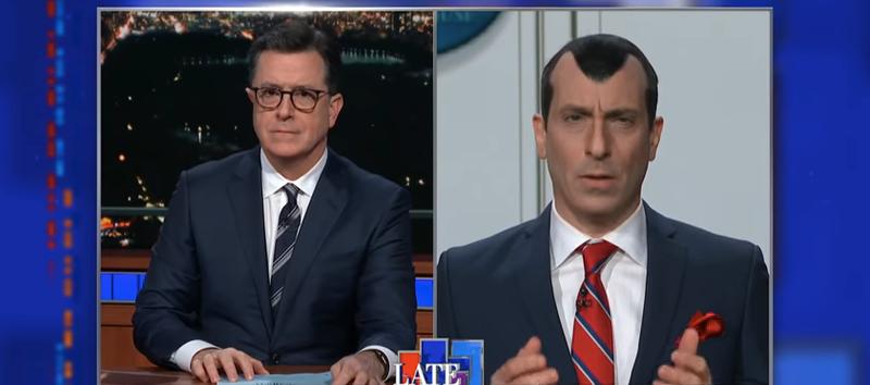 Stephen Colbert, Peter Grosz