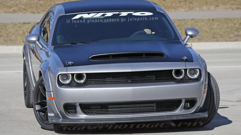Illustration for article titled Dodge Challenger SRT Demon: This Is All Of It