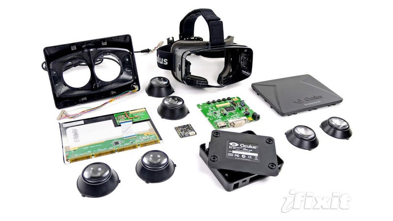 Illustration for article titled The Oculus Rift Might Be The Future Of Video Games. Here's What Its Insides Look Like.