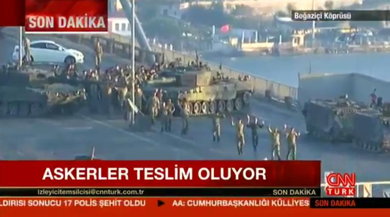 Photo via CNN Turk footage on Twitter