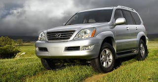 Illustration for article titled Test Drove A GX470 Yesterday