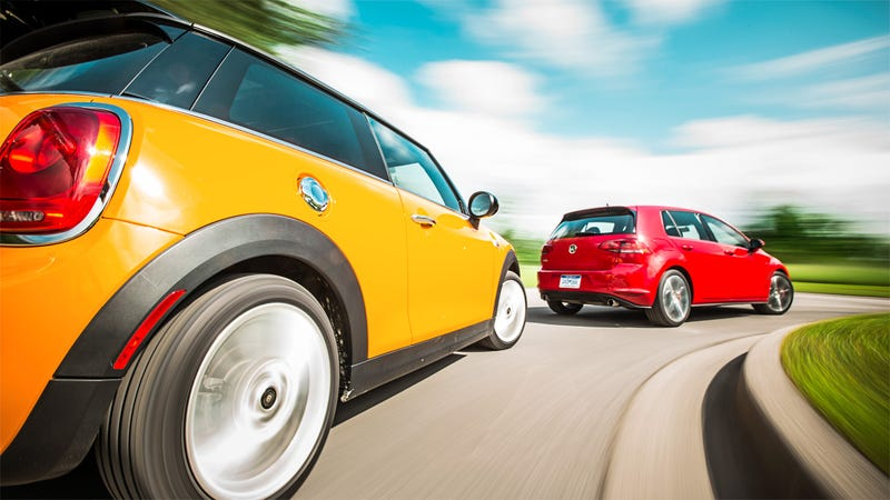 Illustration for article titled Cooper S or GTI?