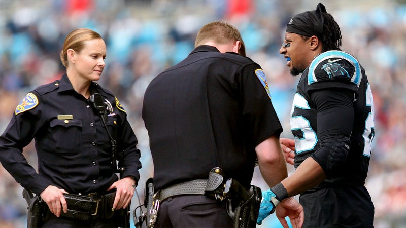 Illustration for article titled NFL Defends Right To Subject Eric Reid To Random Stop-And-Frisks