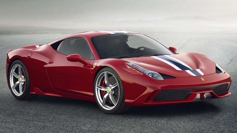 Illustration for article titled The Ferrari 458 Speciale Is Here And It's Hardcore