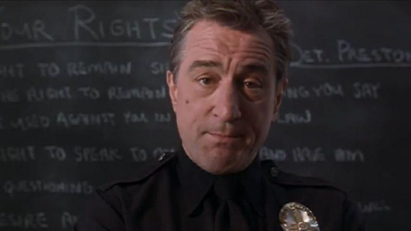 De Niro in Showtime (Screenshot: Warner Movies On Demand)