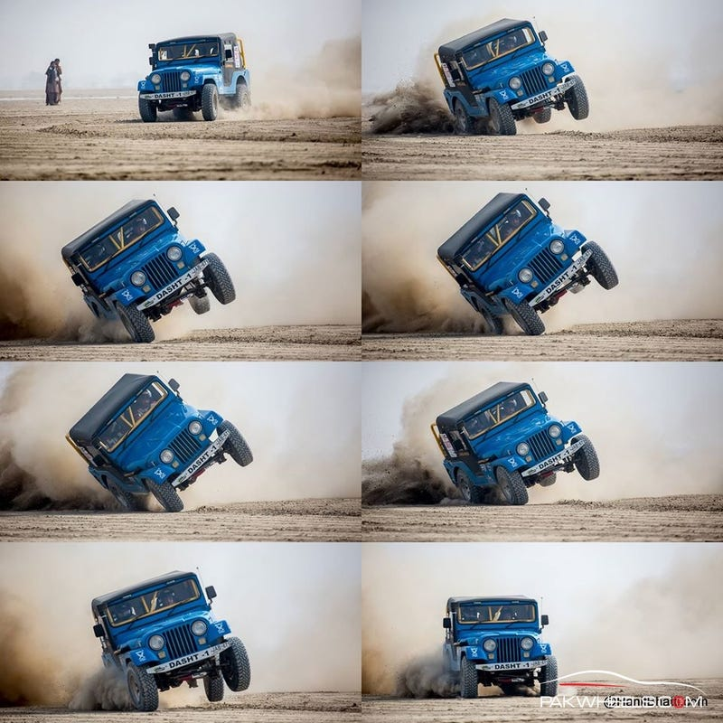Illustration for article titled Saving A 4x4 From Flipping And Why You Should Lose The Camera Too