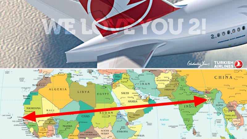 Illustration for article titled Airline Error Sends Passengers To Wrong Continent