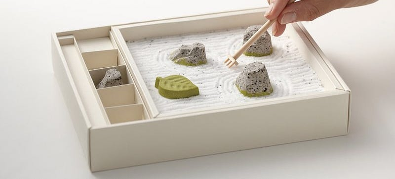 Illustration for article titled The Only Thing More Relaxing Than a Zen Garden Is One Made Of Candy
