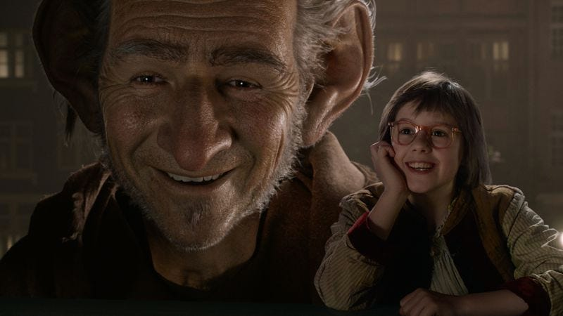 Not Even Steven Spielberg Can Make The Bfg A Good Fit For The Big Screen