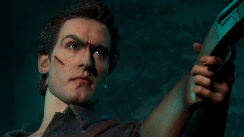 """Illustration for article titled Yes, You're Allowed to Describe This Evil Dead IIFigure As """"Groovy"""""""