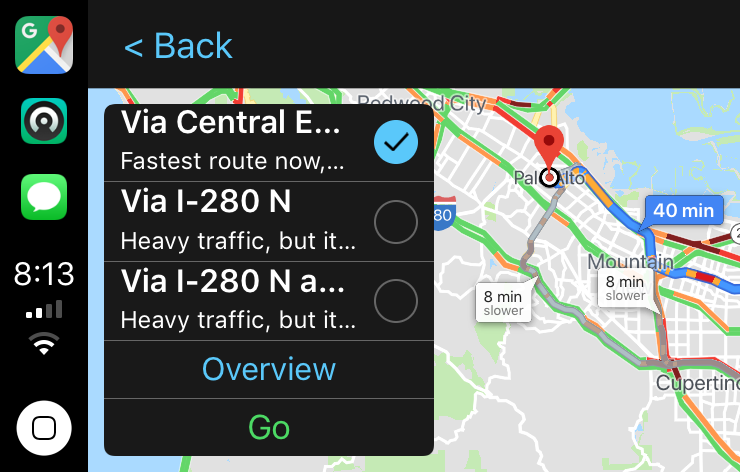 The Best Ways To Use Google Maps With Apple S Carplay