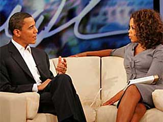 Illustration for article titled Oprah and Obama: Not Solid As Barack?