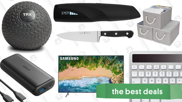 Saturday s Best Deals: Anker Charging Gear, Samsung TV, 4/20 Sales, and More