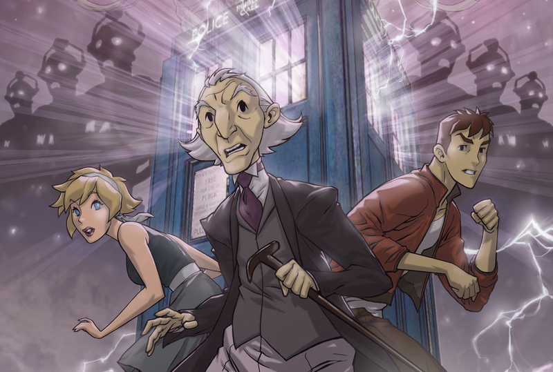 Illustration for article titled There was almost a Doctor Who Animated Series