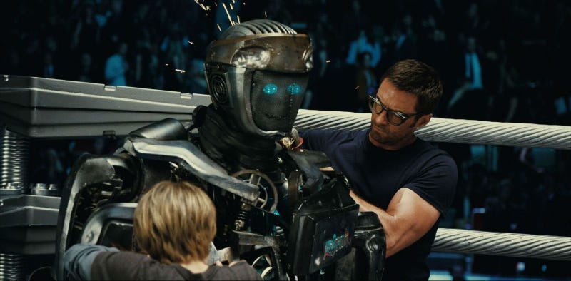 Illustration for article titled Something Kind of Cool and Creepy Was Cut from Real Steel