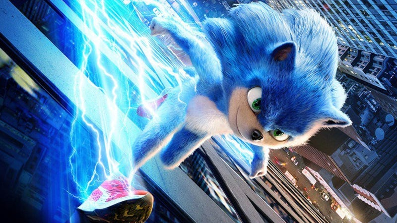 Sonic the Hedgehog may not look like this when the film is released.