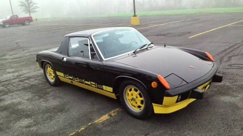 Illustration for article titled For $29,000, Will This 1974 Porsche 914 Bumblebee Start A Buzz?