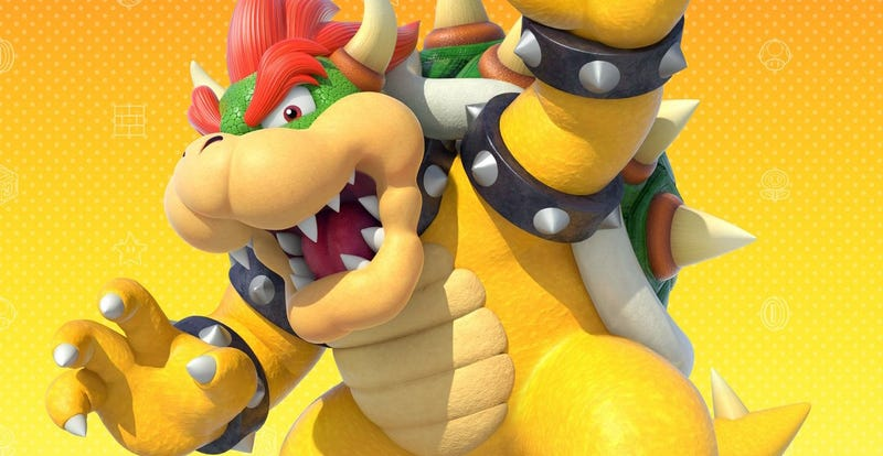 Illustration for article titled 'Bowser' Made A Stage In Mario Maker And It's A Real Bastard