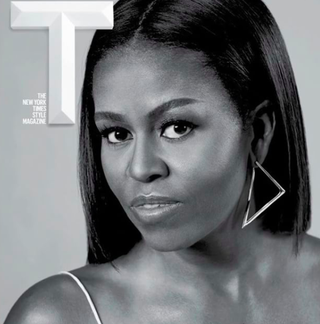 Michelle Obama on the cover of T, the New York Times Style MagazineT, the New York Times Style Magazine