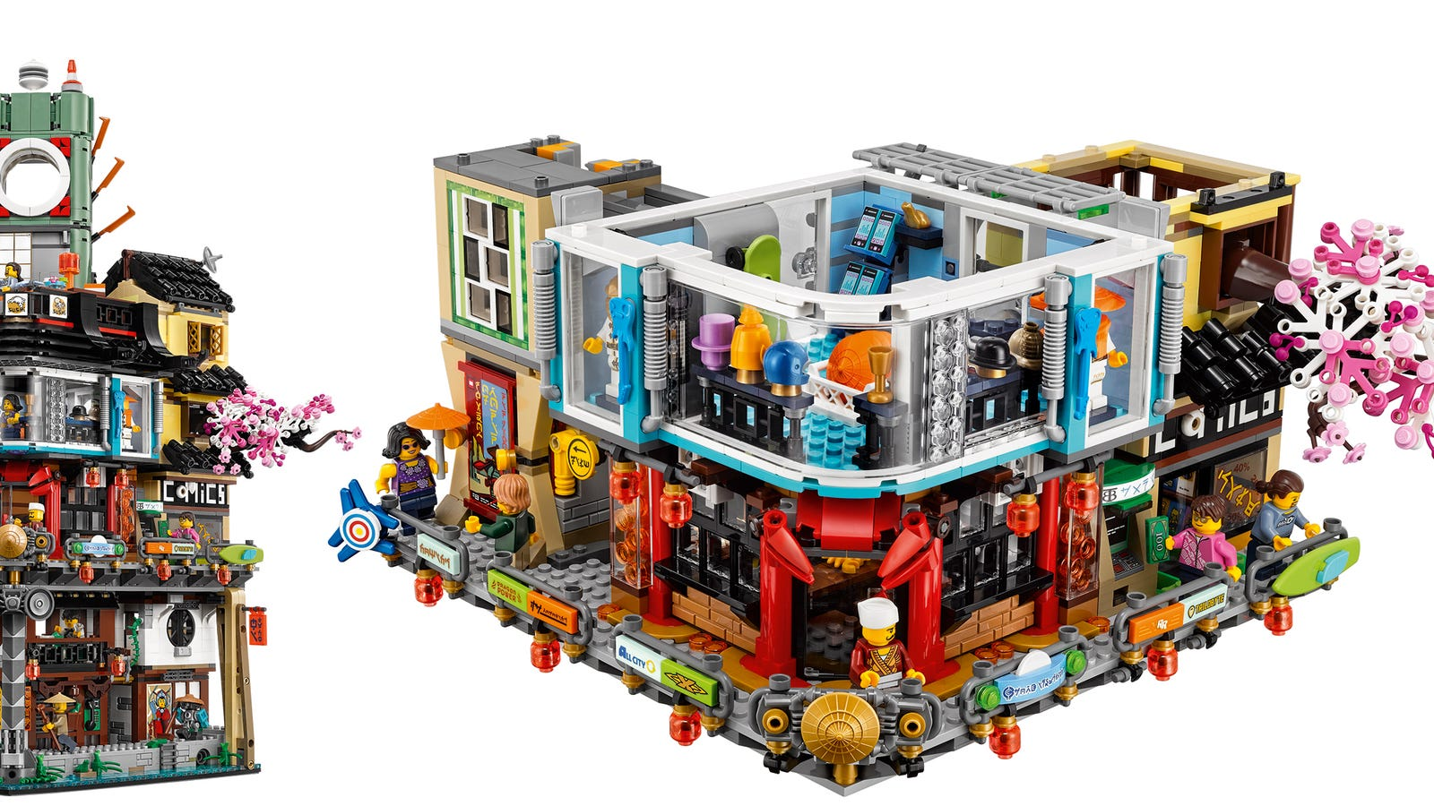 You Could Almost Live Inside Lego's Massive New Ninjago City Set