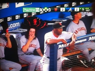 Illustration for article titled Tim Lincecum Goes For League Lead In Boogers