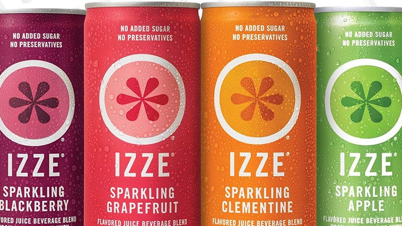 IZZE 24 Pack Variety Pack | $10 | Amazon | With Subscribe & Save and 30% coupon