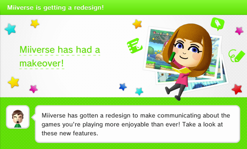 Illustration for article titled Miiverse Revamp Available Now
