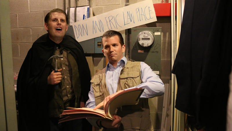 trump boys set up don and eric law place in white house electrical