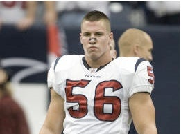 Illustration for article titled Brian Cushing's Performance-Enhancing Regimen Was Not Up To Snuff