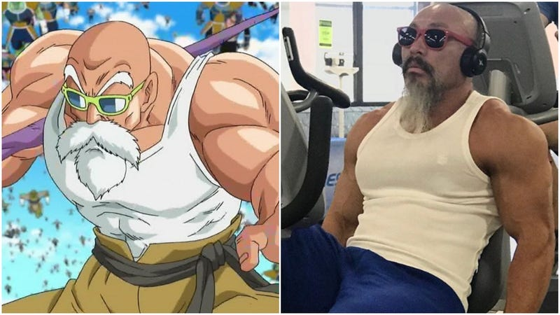 Illustration for article titled It's The Real-Life Master Roshi