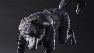 Illustration for article titled Only Metal Gear SolidCould Give Us An Action Figure Of A Dog This Crazy