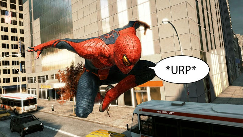 Illustration for article titled The Amazing Spider-Man Made Me Nauseous. This Pleases Me.