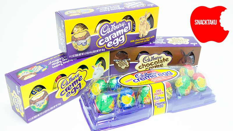Illustration for article titled Cadbury Creme Eggs: The Snacktaku Review