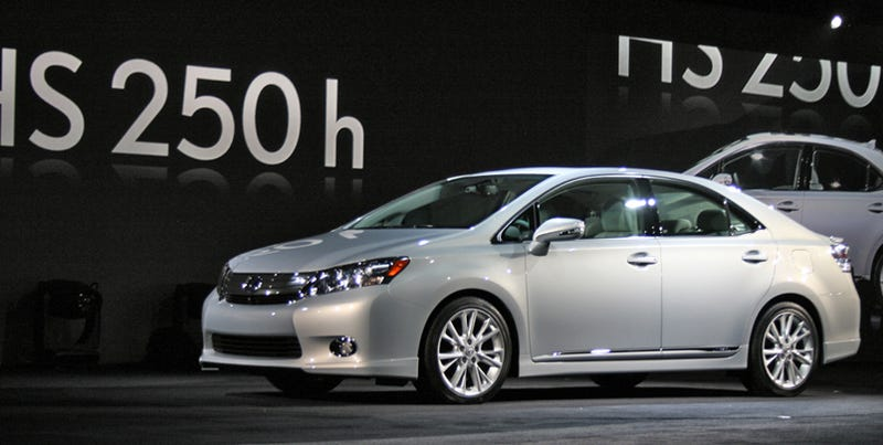 Illustration for article titled Lexus HS 250h: A Prius For The Country Club